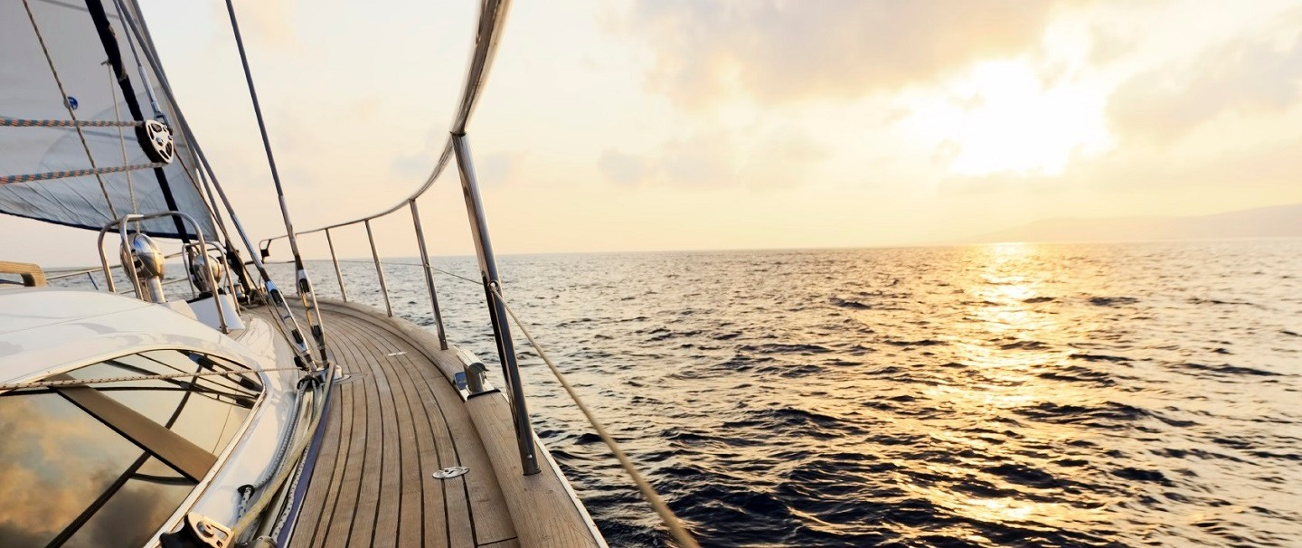 yacht sunset business accounting wealthy